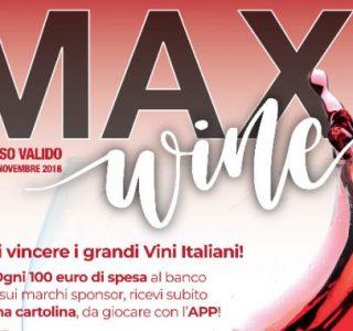 CONSORSO MAXI WINE: VINCI I GRANDI VINI ITALIANI!