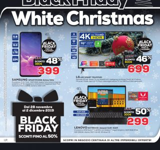 BLACK FRIDAY – WHITE CHRISTMAS